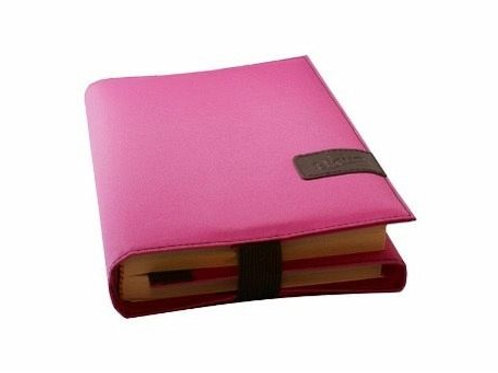 BookSkin, hot pink