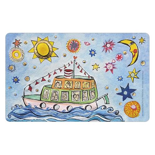 Brettchen »Das kleine Traumschiff«