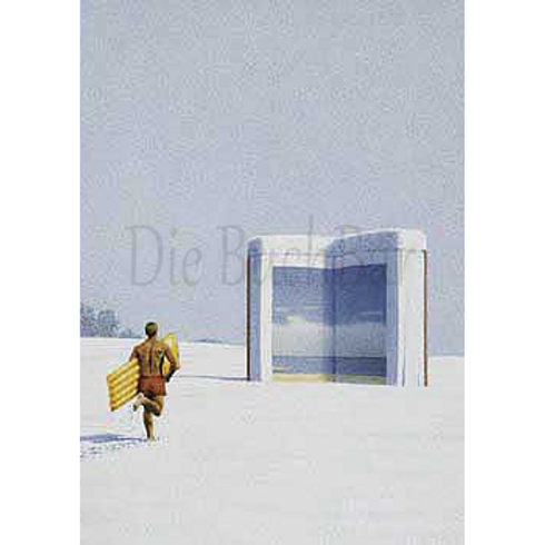 Kunstpostkarte »Lob der Bücher«