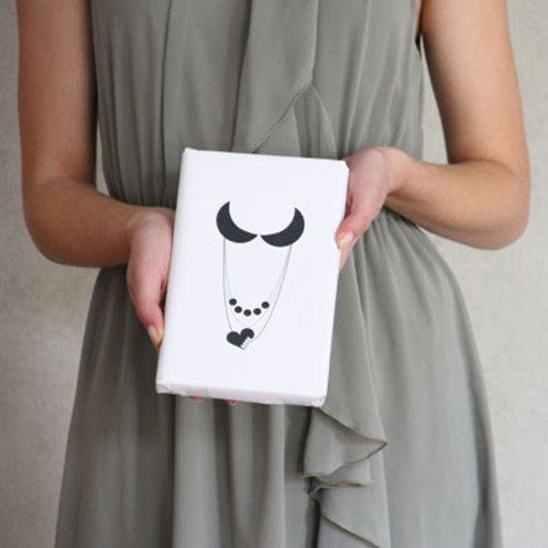 Haute Couture für Bücher, feminin