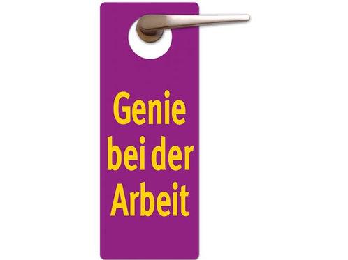 Türhänger »Genie bei der Arbeit«