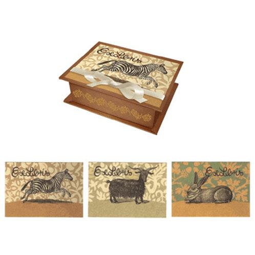 ExLibris-Box »Tiere«