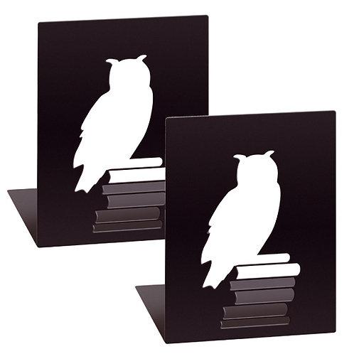 Buchstützen »Leseeule«