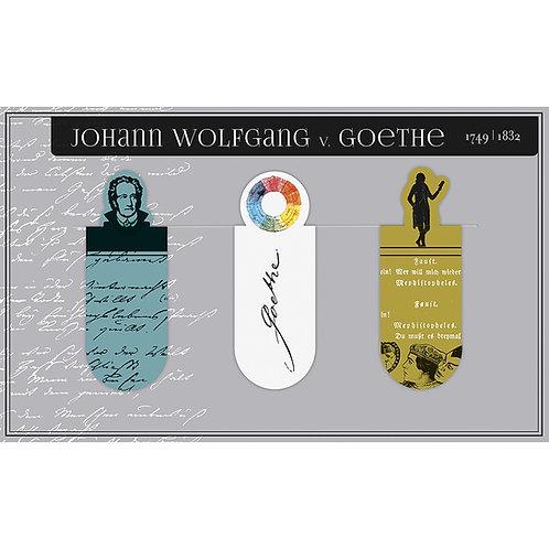 Magnetlesezeichen, Johann Wolfgang von Goethe