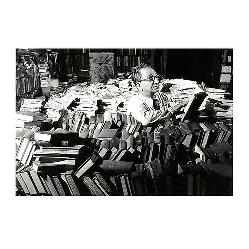 Postkarte »Der Leser«