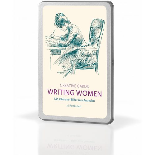 Postkartenset »Writing Women«