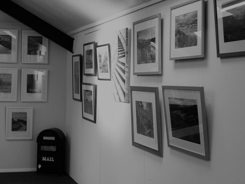 Wall of pictures BW.jpg