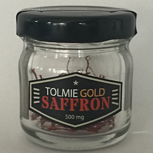 500mg Tolmie Gold Saffron - FREE Shipping