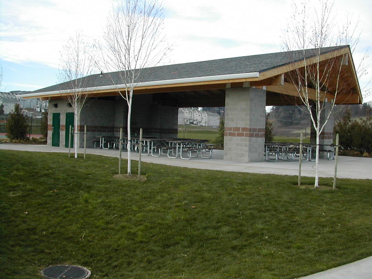 West Linn Park Shelter