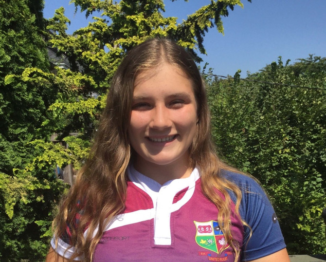 United Junior Willow Beyea makes local news by being selected to participate in the Canadian nationa