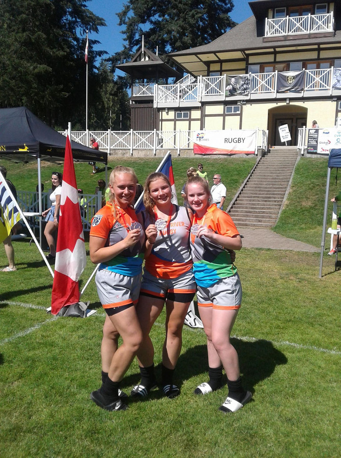 3 United Girls Win Bronze at BC Summer Games