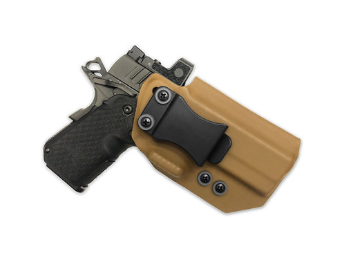 Fulcrum AIWB Holster w/ Integrated Concealment Claw and Wedge