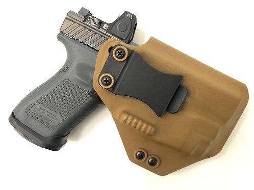 Fulcrum AIWB Light Bearing Holster w/ Integrated Concealment Claw and Wedge
