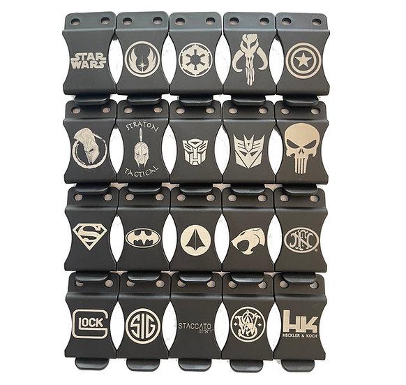 Custom Engraved Belt Clips