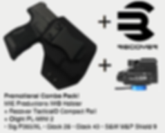 MIE Productions IWB Holster with Recover Tactical with Olight PL-MINI 2.pngth