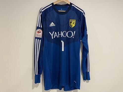 2014/15 Sun Pegasus 'TYSON 1' goalkeeper jersey + book