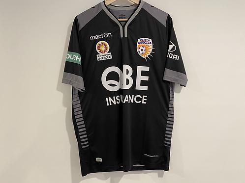 2015/16 Perth Glory 'TYSON 12' goalkeeper jersey + book