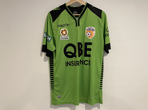 2015/16 Perth Glory jersey + book