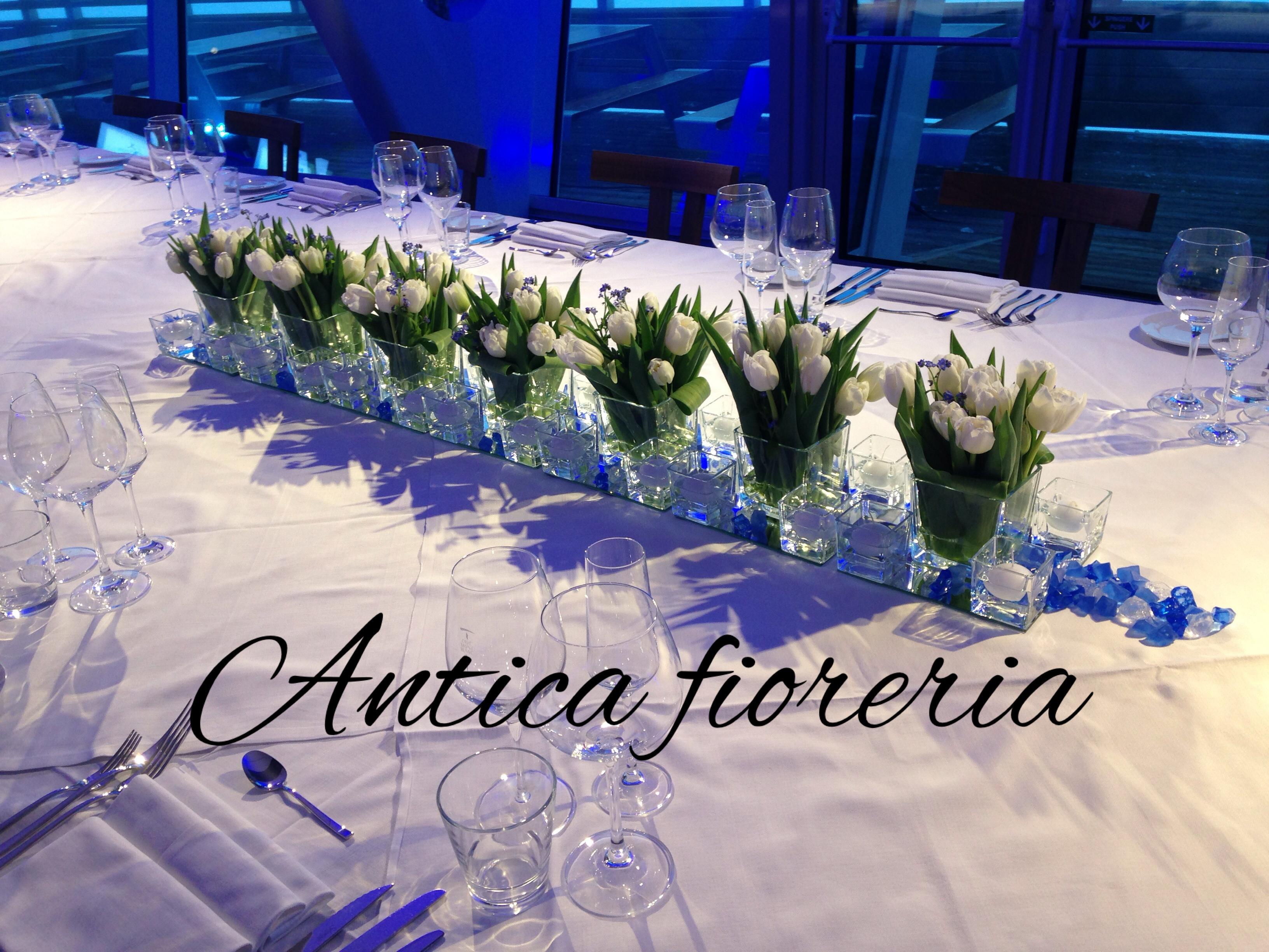 tavolo imperiale cena di gala Courmayeur