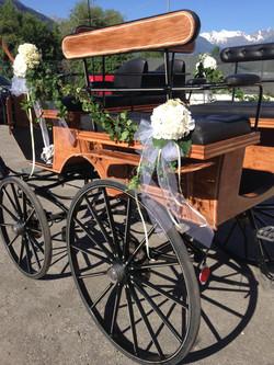 carrozza sposi