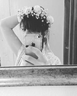 #weddingcrown #flowerscrown #coroncinadi