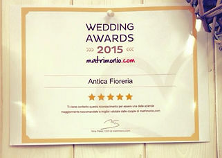 wedding awards Aosta