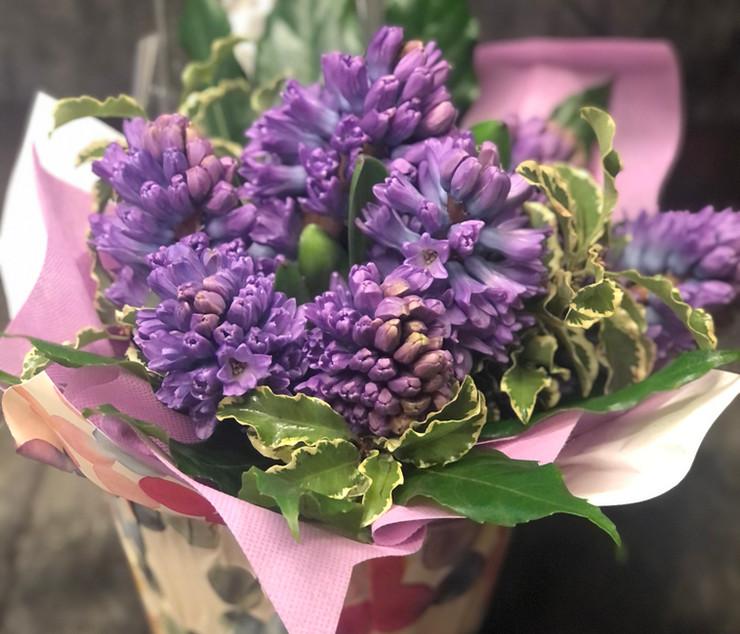 Bouquet di giacinti
