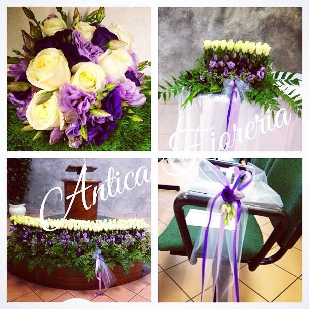 Il nostro allestimento di oggi! Un matrimonio originale, stile e colori particolari!  #wedding #wedd