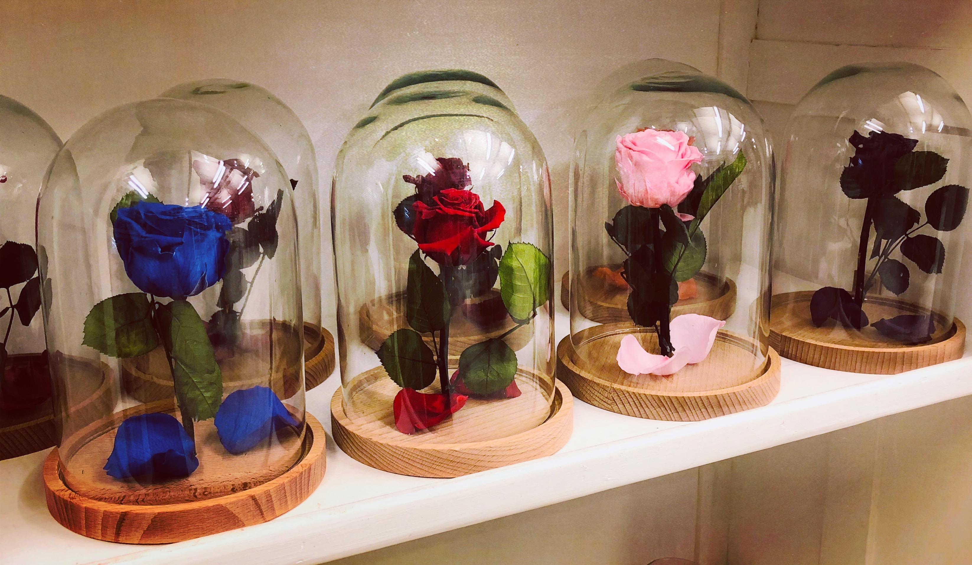 Campane con rose eterne