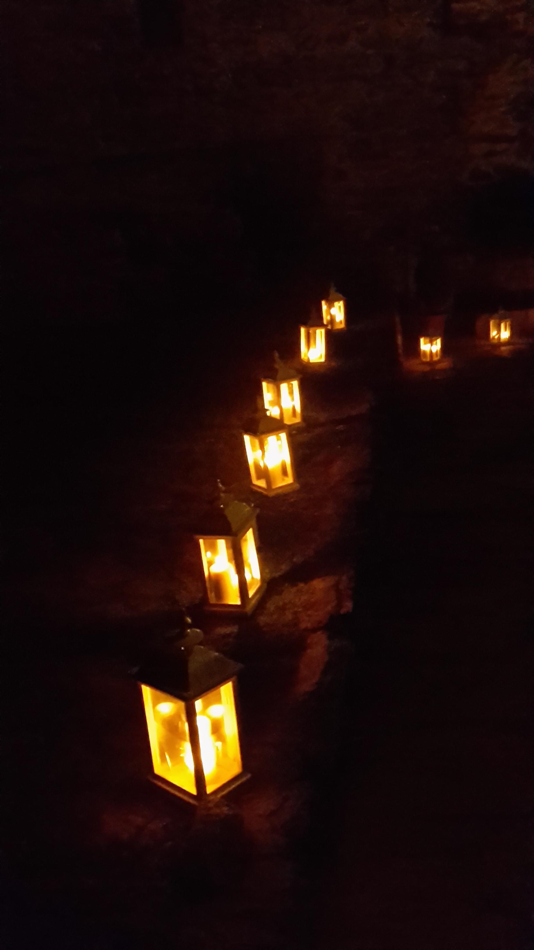 lanterne castello Tour de Villa