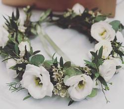 💚coroncina floreale per la nostra sposa