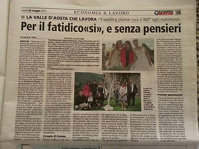 fiera sposi Aosta