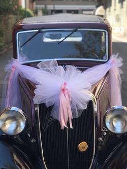 allestimento auto sposi