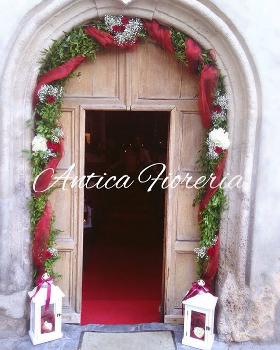#arcofiorito #wedding #redwedding #anticafioreriaaosta ❤️