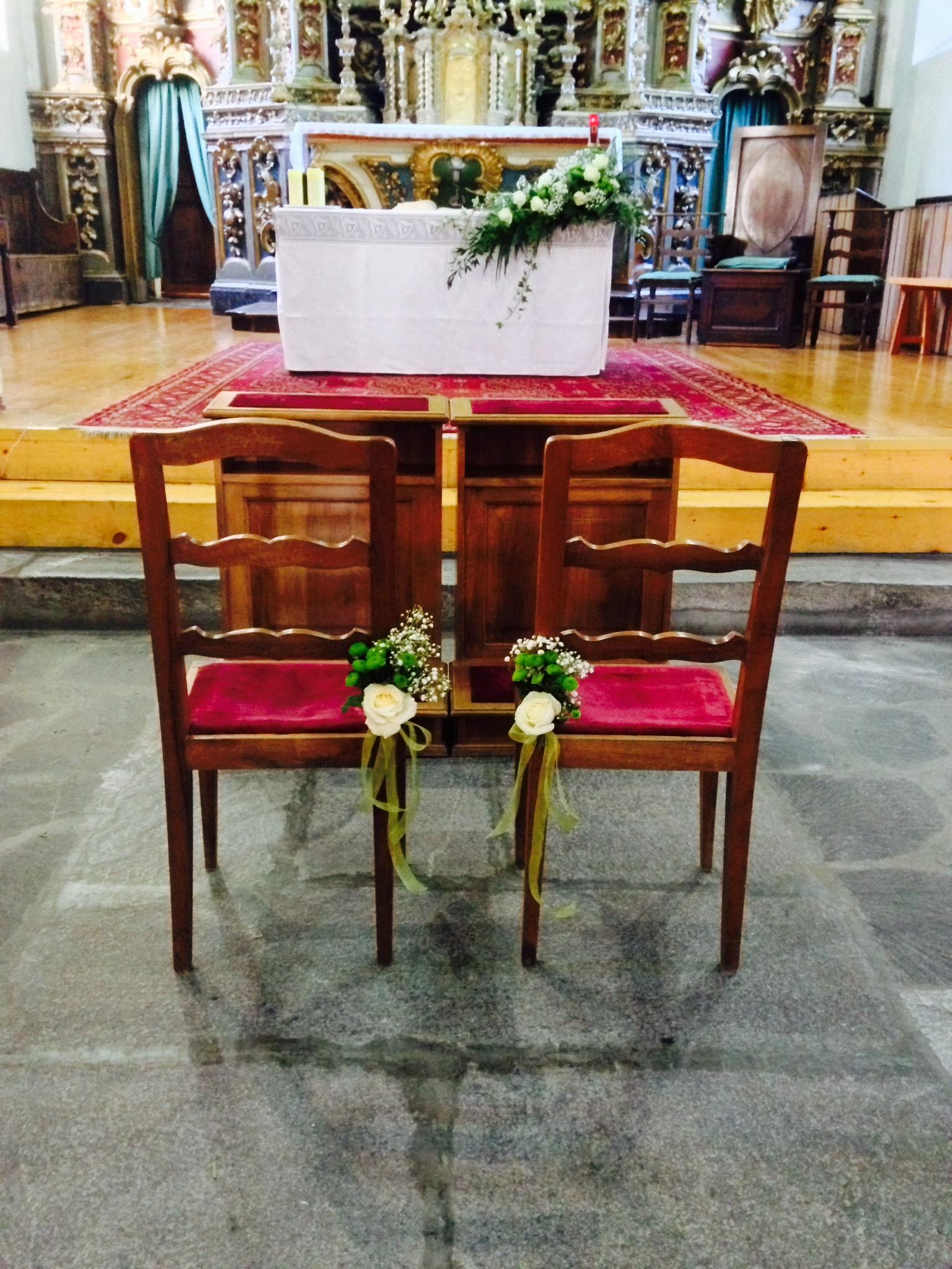 sedie sposi