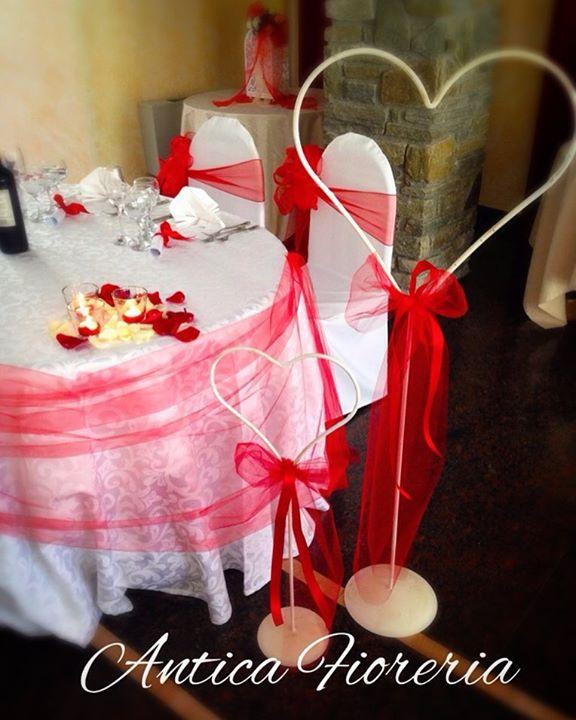 #18giugno2016 #weddingflowers #redwedding #flowermagic #anticafioreriaaosta #cuori