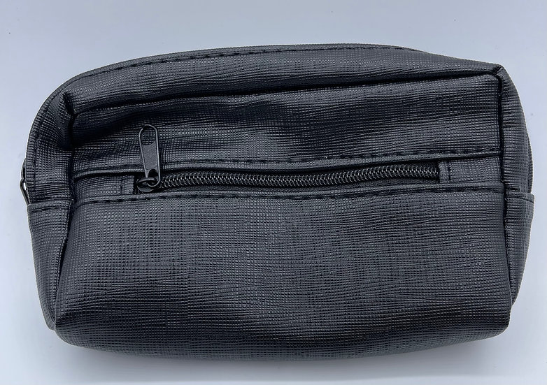 Two Zippered Pipe Tobacco  Pouch