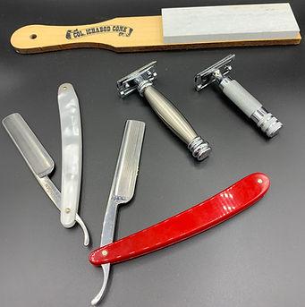 Colonel Conk straight razor blades