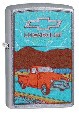 CHEVROLET BLUE W/ TRUCK