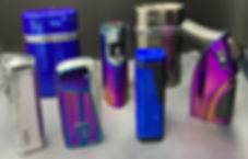 Vector Butane Lighters