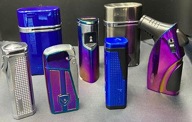 Vector Butane Lighters