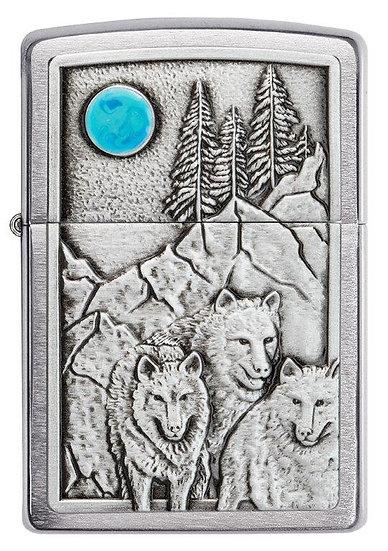 Wolf Pack & Moon Emblem