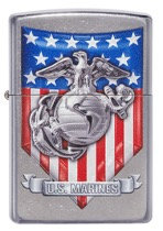 US MARINE CORP W/ FLAG