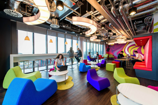 "Google Office Design Interesting The ""google Effect"" Is Overtaking Offices  Manhattanofficedesign . 2017"