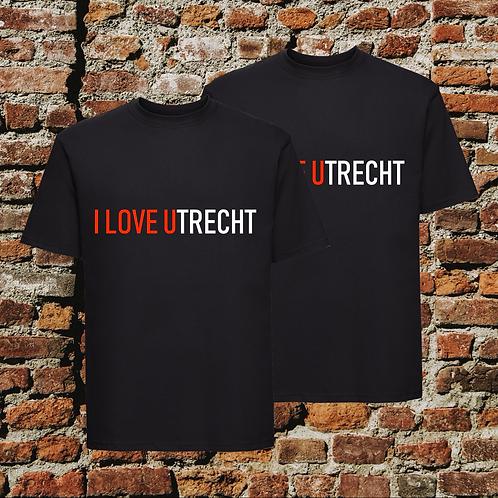 I Love Utrecht T-shirts Combideal Zwart