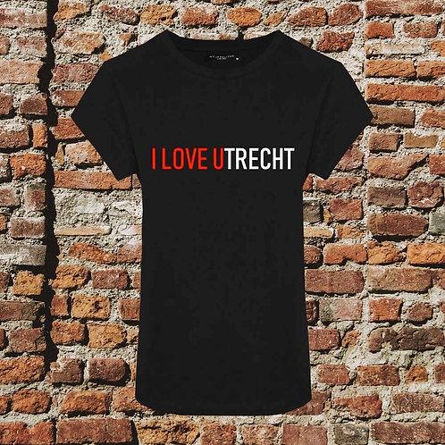 I Love Utrecht T-shirt Dames