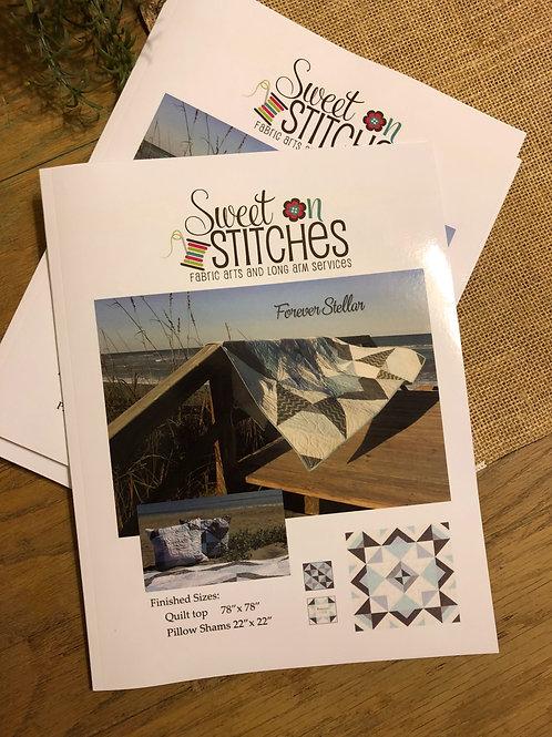 Forever Stellar Quilt Pattern Book