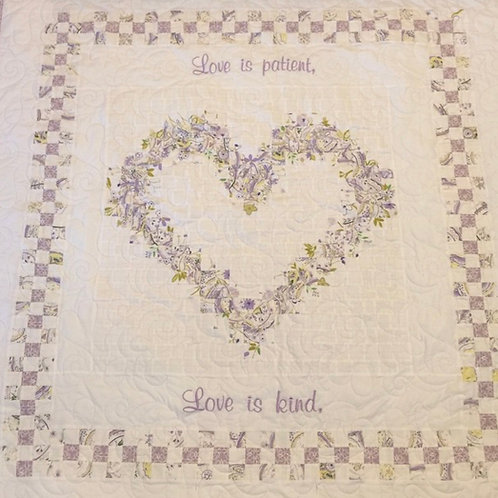 FAMILY HEART QUILT PATTERN