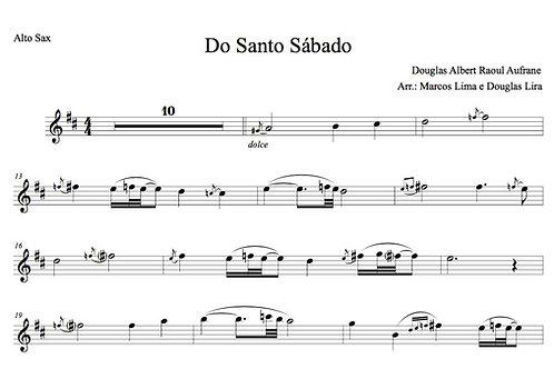 Do Santo Sábado - Sheet Music