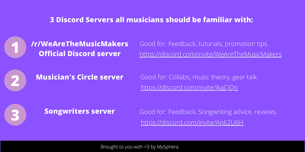 3 discord servers all musicians should be familiar with to boost their music